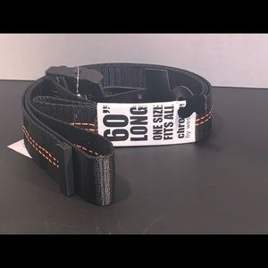"Chrome 60"" Long Tactical Belt"